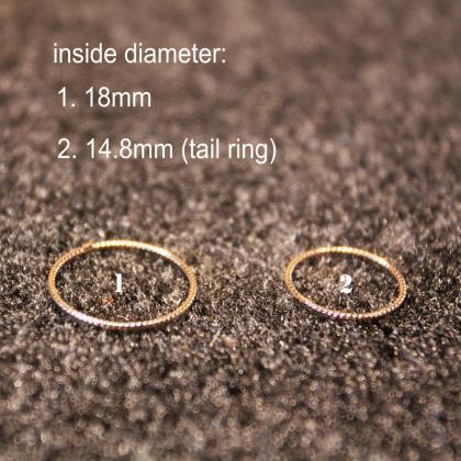 Fashionalbe 5 Pieces Stacking Rings..